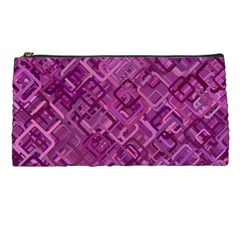 Purple Pattern Background Pencil Cases
