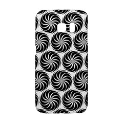 Pattern Swirl Spiral Repeating Samsung Galaxy S6 Edge Hardshell Case by Pakrebo
