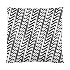 Wave Wave Lines Diagonal Seamless Standard Cushion Case (one Side)