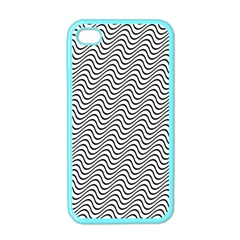 Wave Wave Lines Diagonal Seamless Apple Iphone 4 Case (color)