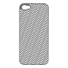 Wave Wave Lines Diagonal Seamless Apple Iphone 5 Case (silver)