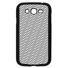 Wave Wave Lines Diagonal Seamless Samsung Galaxy Grand Duos I9082 Case (black)