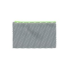 Wave Wave Lines Diagonal Seamless Cosmetic Bag (xs)