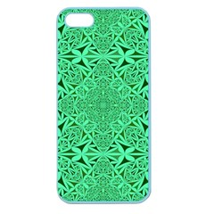 Triangle Background Pattern Apple Seamless Iphone 5 Case (color)