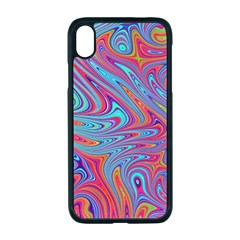 Fractal Bright Fantasy Design Apple Iphone Xr Seamless Case (black)