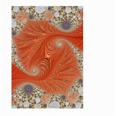 Fractal Art Artwork Pattern Fractal Large Garden Flag (two Sides)