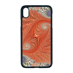 Fractal Art Artwork Pattern Fractal Apple Iphone Xr Seamless Case (black)