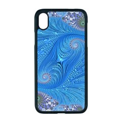 Fractal Artwork Artwork Fractal Art Apple Iphone Xr Seamless Case (black)