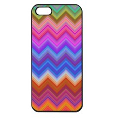 Pattern Chevron Zigzag Background Apple Iphone 5 Seamless Case (black)