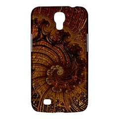Copper Caramel Swirls Abstract Art Samsung Galaxy Mega 6 3  I9200 Hardshell Case
