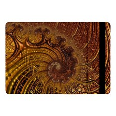 Copper Caramel Swirls Abstract Art Apple Ipad Pro 10 5   Flip Case
