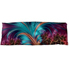 Feather Fractal Artistic Design Body Pillow Case Dakimakura (two Sides)