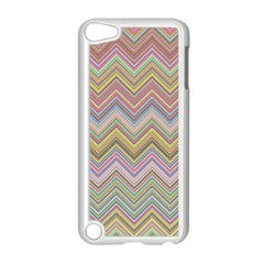Chevron Colorful Background Vintage Apple Ipod Touch 5 Case (white)