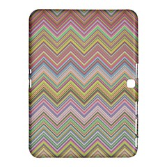 Chevron Colorful Background Vintage Samsung Galaxy Tab 4 (10 1 ) Hardshell Case