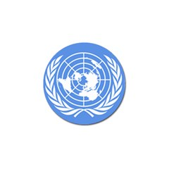 Square Flag Of United Nations Golf Ball Marker (10 Pack) by abbeyz71
