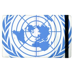 Blue Emblem Of United Nations Apple Ipad Pro 12 9   Flip Case by abbeyz71
