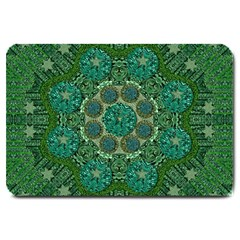 Stars Shining Over The Brightest Star In Lucky Starshine Large Doormat  by pepitasart