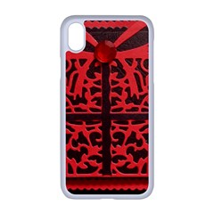 Red Present Apple Iphone Xr Seamless Case (white) by DeneWestUK