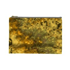 Abstract Dizzy 1b Cosmetic Bag (large) by MoreColorsinLife