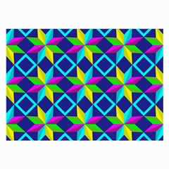 Pattern Star Abstract Background Large Glasses Cloth