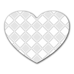 Seamless Background Abstract Vector Heart Mousepads