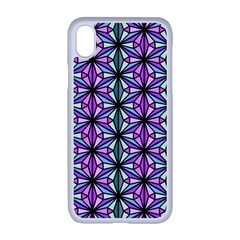Geometric Patterns Triangle Seamless Apple Iphone Xr Seamless Case (white)