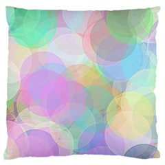 Abstract Background Texture Large Flano Cushion Case (one Side)