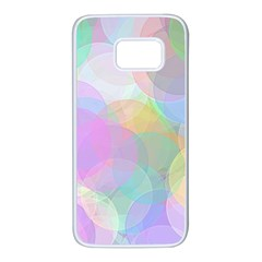 Abstract Background Texture Samsung Galaxy S7 White Seamless Case