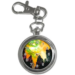Forest Trees Nature Wood Green Key Chain Watches
