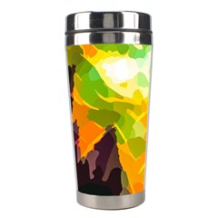 Forest Trees Nature Wood Green Stainless Steel Travel Tumblers