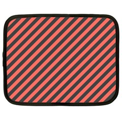 Diagonal Stripes Netbook Case (xxl)