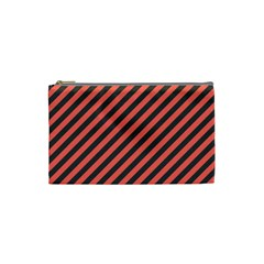 Diagonal Stripes Cosmetic Bag (small)