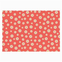 Field Of Daisies Large Glasses Cloth