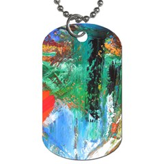 Garden 2 Dog Tag (two Sides)