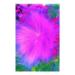 Psychedelic Purple Garden Milkweed Flower Shower Curtain 48  X 72  (small)