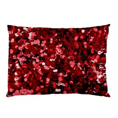 The Ruby Garland Shimmer Pillow Case by WensdaiAddamns