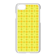 Traditional Patterns Chrysanthemum Apple Iphone 7 Seamless Case (white)