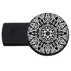 Pattern Star Design Texture Usb Flash Drive Round (4 Gb)