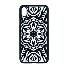 Pattern Star Design Texture Apple Iphone Xr Seamless Case (black)