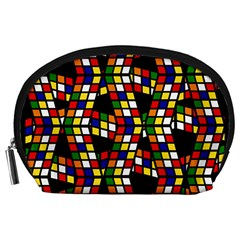 Graphic Pattern Rubiks Cube Cube Accessory Pouch (large)