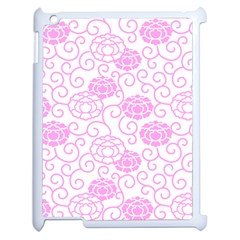 Peony Asia Spring Flowers Natural Apple Ipad 2 Case (white)