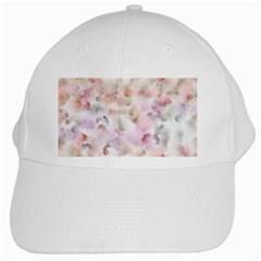Abstract Watercolor Seamless White Cap