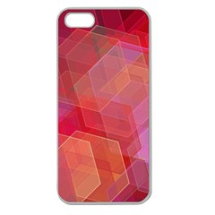 Abstract Background Texture Apple Seamless Iphone 5 Case (clear) by Pakrebo