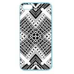 Pattern Tile Repeating Geometric Apple Seamless Iphone 5 Case (color)