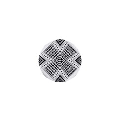 Pattern Tile Repeating Geometric 1  Mini Buttons