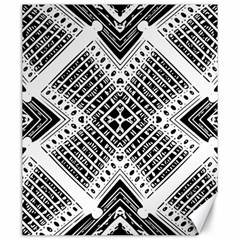 Pattern Tile Repeating Geometric Canvas 20  X 24