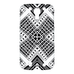 Pattern Tile Repeating Geometric Samsung Galaxy S4 I9500/i9505 Hardshell Case by Pakrebo