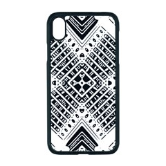 Pattern Tile Repeating Geometric Apple Iphone Xr Seamless Case (black)
