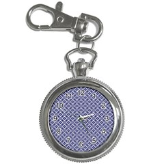 Wreath Differences Indigo Deep Blue Key Chain Watches