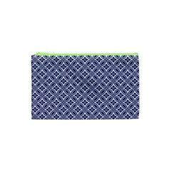 Wreath Differences Indigo Deep Blue Cosmetic Bag (xs)